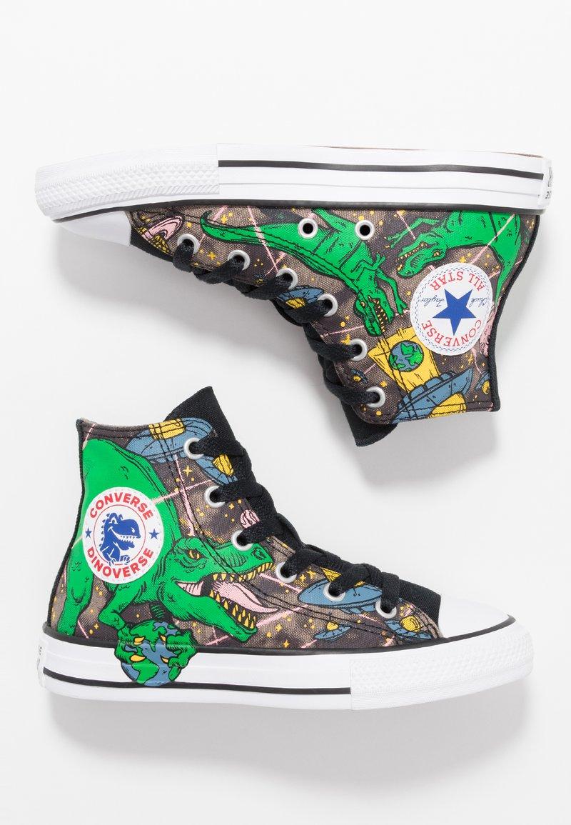Converse - CHUCK TAYLOR ALL STAR INTERSTELLAR DINO'S - Sneaker high - mason taupe/bold kiwi/black