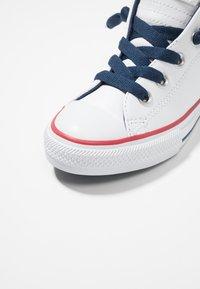 Converse - CHUCK TAYLOR ALL STAR STREET MID - Høye joggesko - navy/white - 2