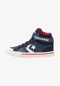 Converse - PRO BLAZE STRAP - Sneakers alte - midnight navy/turtledove/obsidian - 1