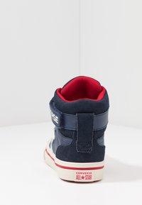 Converse - PRO BLAZE STRAP - Sneakers alte - midnight navy/turtledove/obsidian - 4
