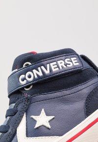 Converse - PRO BLAZE STRAP - Sneakers alte - midnight navy/turtledove/obsidian - 2