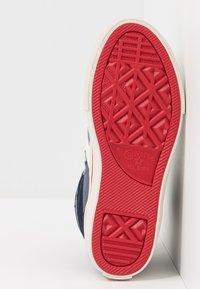 Converse - PRO BLAZE STRAP - Sneakers alte - midnight navy/turtledove/obsidian - 5