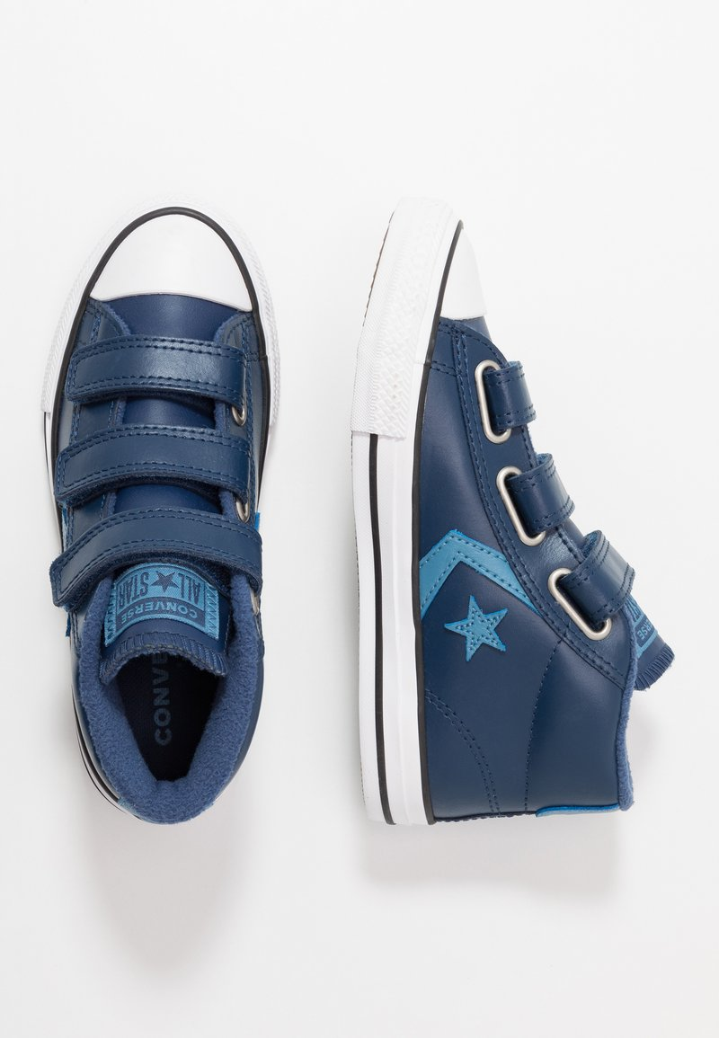 Converse - STAR PLAYER - Sneakers high - obsidian/aegean storm/white