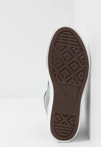 Converse - PRO BLAZE STRAP EMBROIDERED - Zapatillas altas - dolphin/navy/white - 5