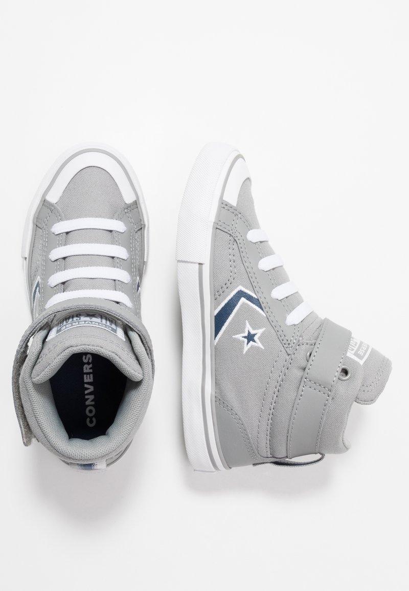 Converse - PRO BLAZE STRAP EMBROIDERED - Zapatillas altas - dolphin/navy/white