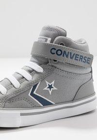 Converse - PRO BLAZE STRAP EMBROIDERED - Zapatillas altas - dolphin/navy/white - 2