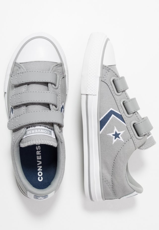 STAR PLAYER EMBROIDERED - Sneakers laag - dolphin/navy/white