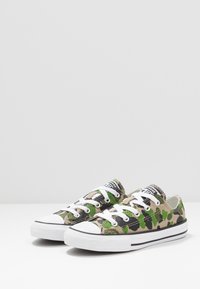 Converse - CHUCK TAYLOR ALL STAR - Sneakers laag - black/khaki/white - 3