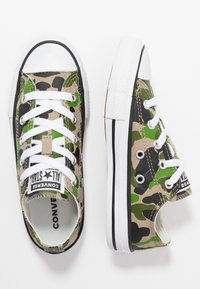 Converse - CHUCK TAYLOR ALL STAR - Sneakers laag - black/khaki/white - 0