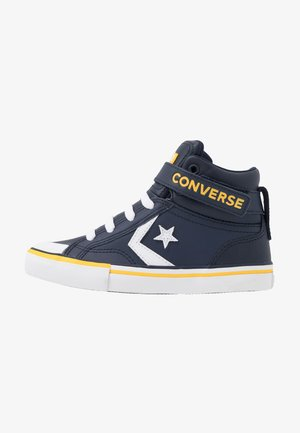 PRO BLAZE STRAP VARSITY - High-top trainers - obsidian/amarillo/white