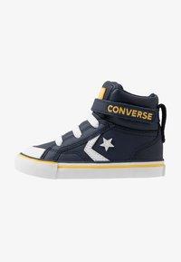 Converse - PRO BLAZE STRAP VARSITY - Sneakers hoog - obsidian/amarillo/white - 1