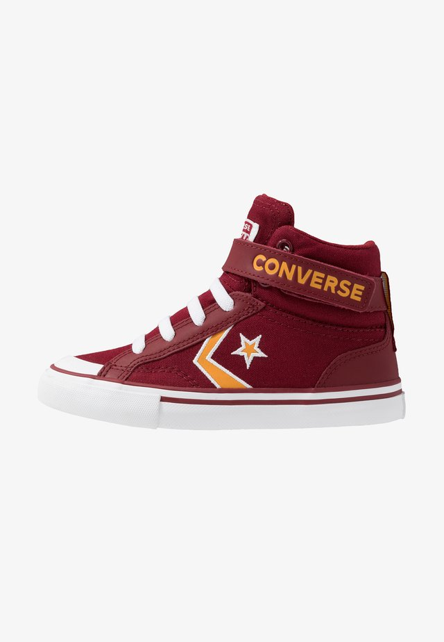 PRO BLAZE STRAP EMBROIDERED - High-top trainers - team red/laser orange/white