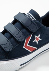 Converse - STAR PLAYER EMBROIDERED - Trainers - obsidian/university red/white - 2