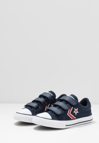 Converse - STAR PLAYER EMBROIDERED - Trainers - obsidian/university red/white - 3