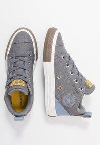 Converse - CHUCK TAYLOR ALL STAR OLLIE TRANSLUCENT MID - Zapatillas altas - mason/blue slate/amarillo - 0