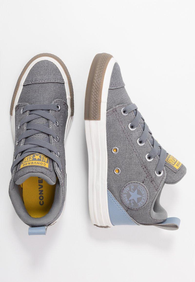 Converse - CHUCK TAYLOR ALL STAR OLLIE TRANSLUCENT MID - Zapatillas altas - mason/blue slate/amarillo