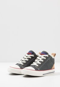 Converse - CHUCK TAYLOR ALL STAR OLLIE - Sneakers hoog - dolphin/black/champagne tan - 3