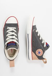 Converse - CHUCK TAYLOR ALL STAR OLLIE - Sneakers hoog - dolphin/black/champagne tan - 0
