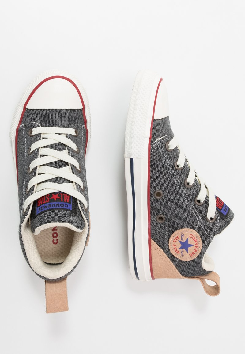 Converse - CHUCK TAYLOR ALL STAR OLLIE - Sneakers hoog - dolphin/black/champagne tan