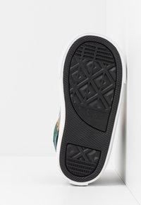 Converse - PRO BLAZE STRAP - Sneaker high - obsidian/midnight clover/saffron yellow - 5