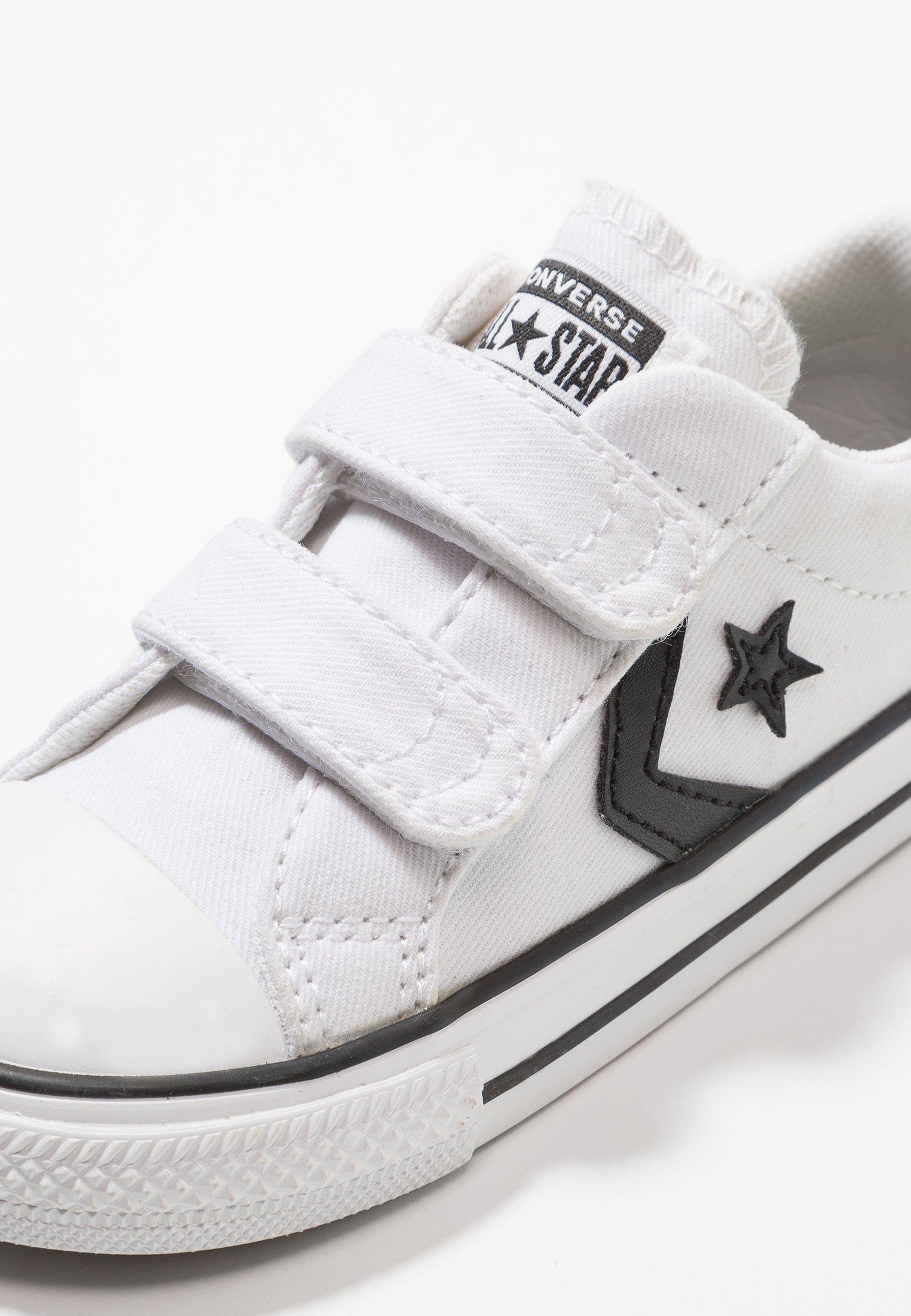 Converse STAR PLAYER OX Scarpe primi passi whiteblack