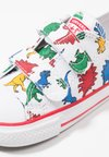 Converse - CHUCK TAYLOR ALL STAR OX - Babyschoenen - white/enamel red/totally blue