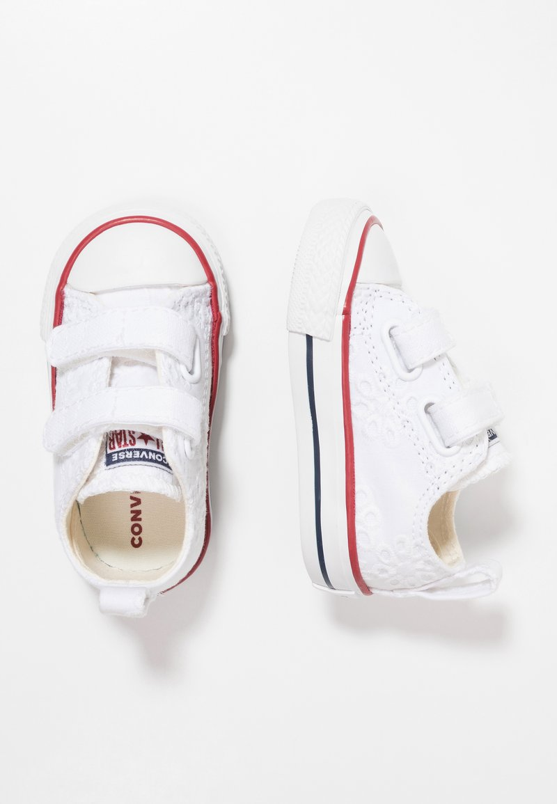 Converse - CHUCK TAYLOR ALL STAR - Sneaker low - white/garnet/midnight navy