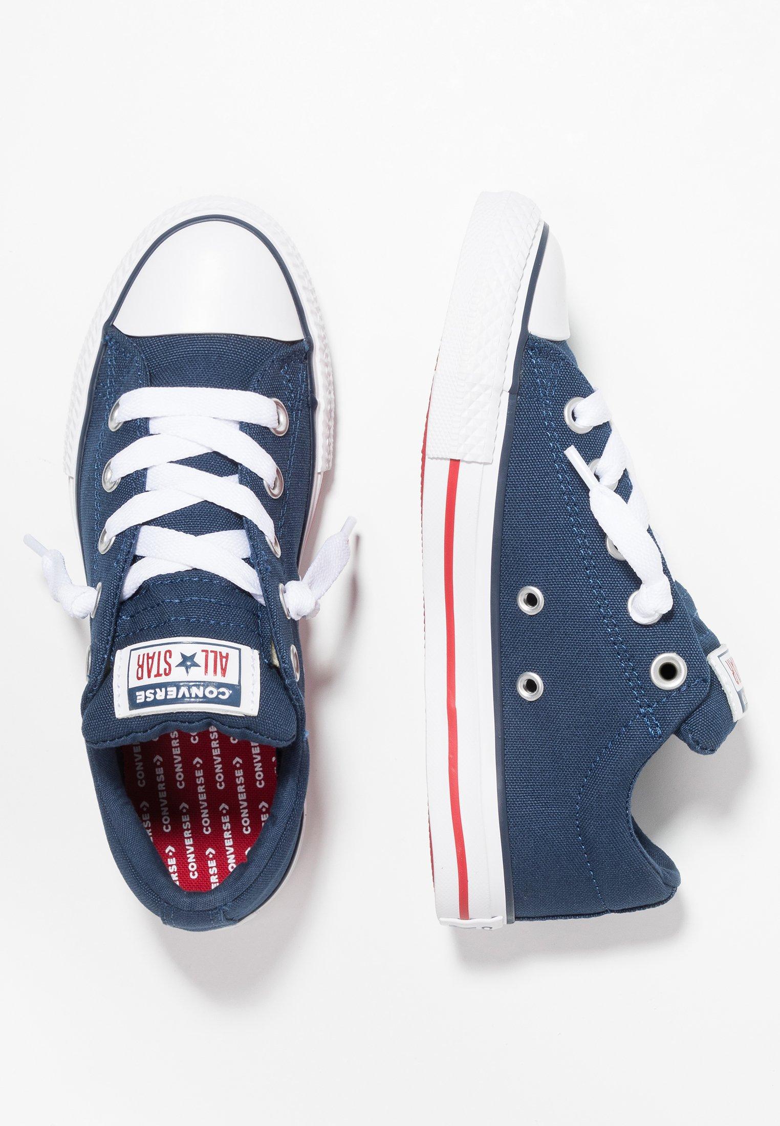 CHUCK TAYLOR ALL STAR STREET SLIP Sneakers basse navywhitegarnet