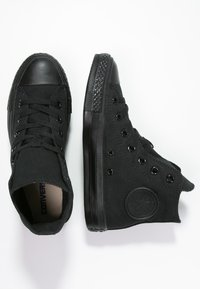 Converse - CHUCK TAYLOR ALL STAR HI - Korkeavartiset tennarit - noir - 1