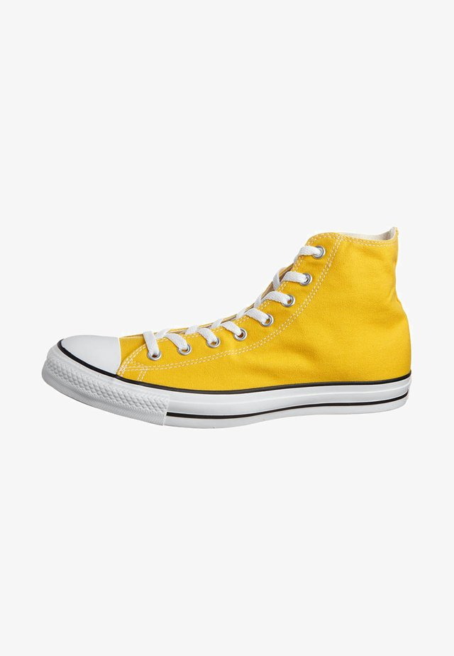 CHUCK TAYLOR ALL STAR HI - Korkeavartiset tennarit - lemon chrome