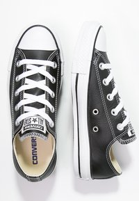 Converse - CHUCK TAYLOR ALL STAR OX - Sneakersy niskie - black - 1