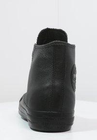Converse - CHUCK TAYLOR ALL STAR - Korkeavartiset tennarit - black - 3