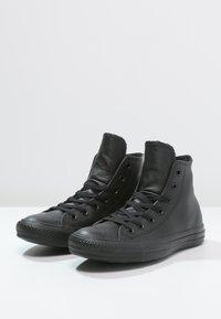 Converse - CHUCK TAYLOR ALL STAR - Korkeavartiset tennarit - black - 2