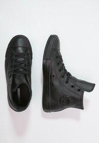 Converse - CHUCK TAYLOR ALL STAR - Korkeavartiset tennarit - black - 1