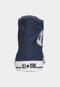 Converse - CHUCK TAYLOR ALL STAR - Sneaker high - dark blue - 3