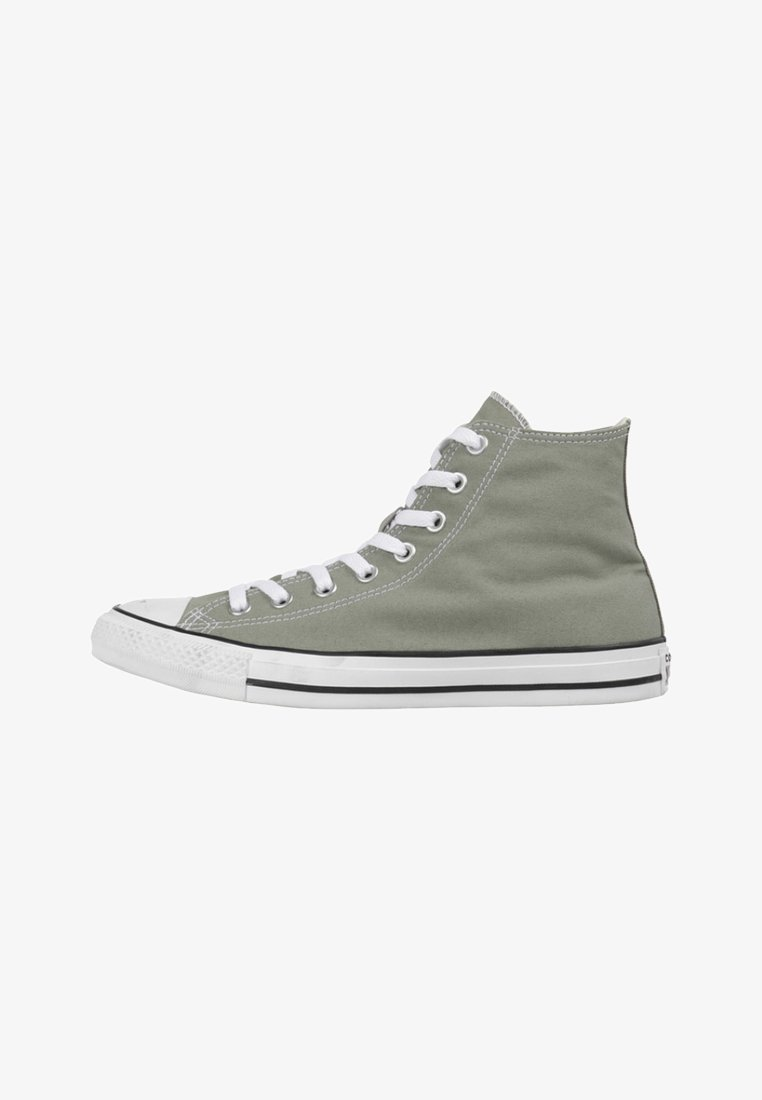 Converse - High-top trainers - light green