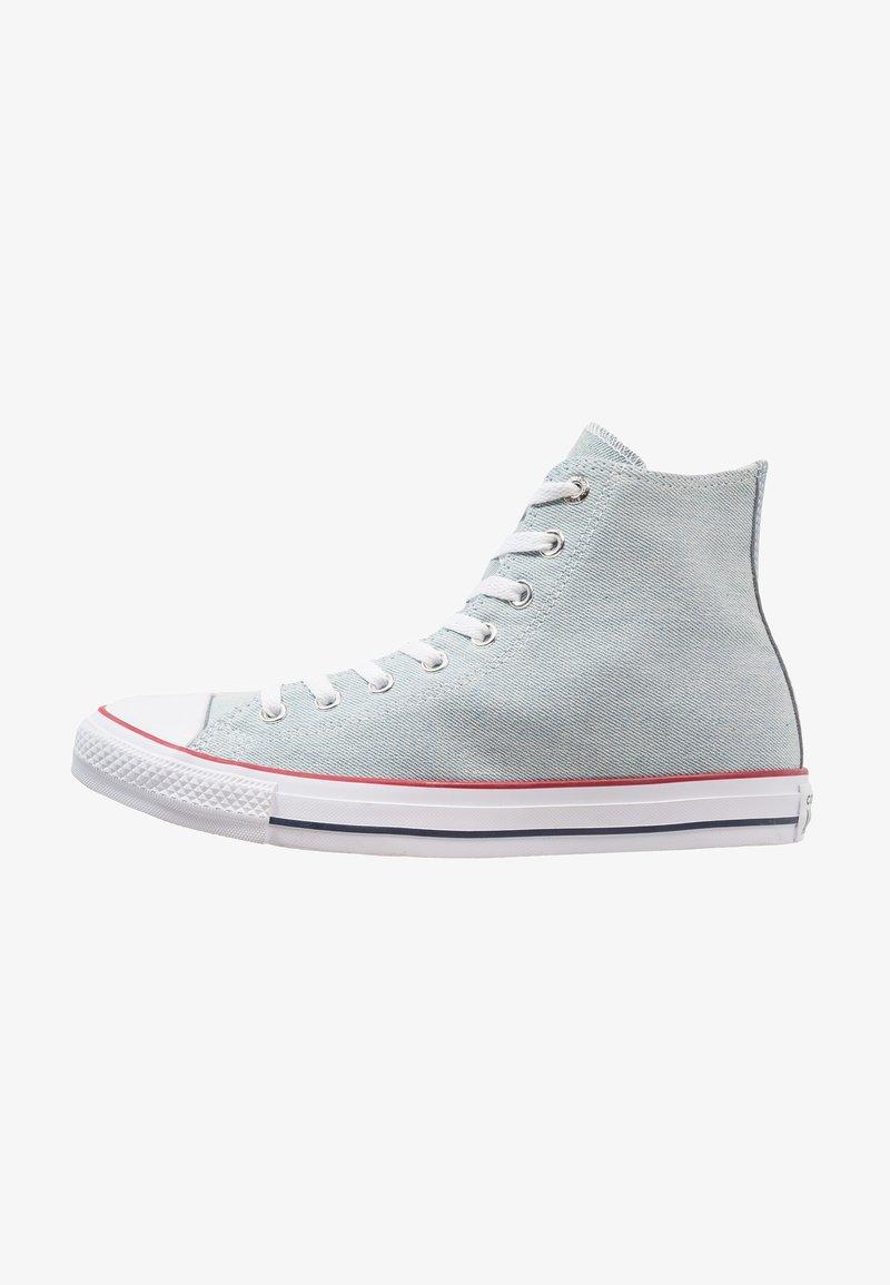 Converse - CHUCK TAYLOR ALL STAR DENIM HI - Zapatillas altas - light blue/white/brown