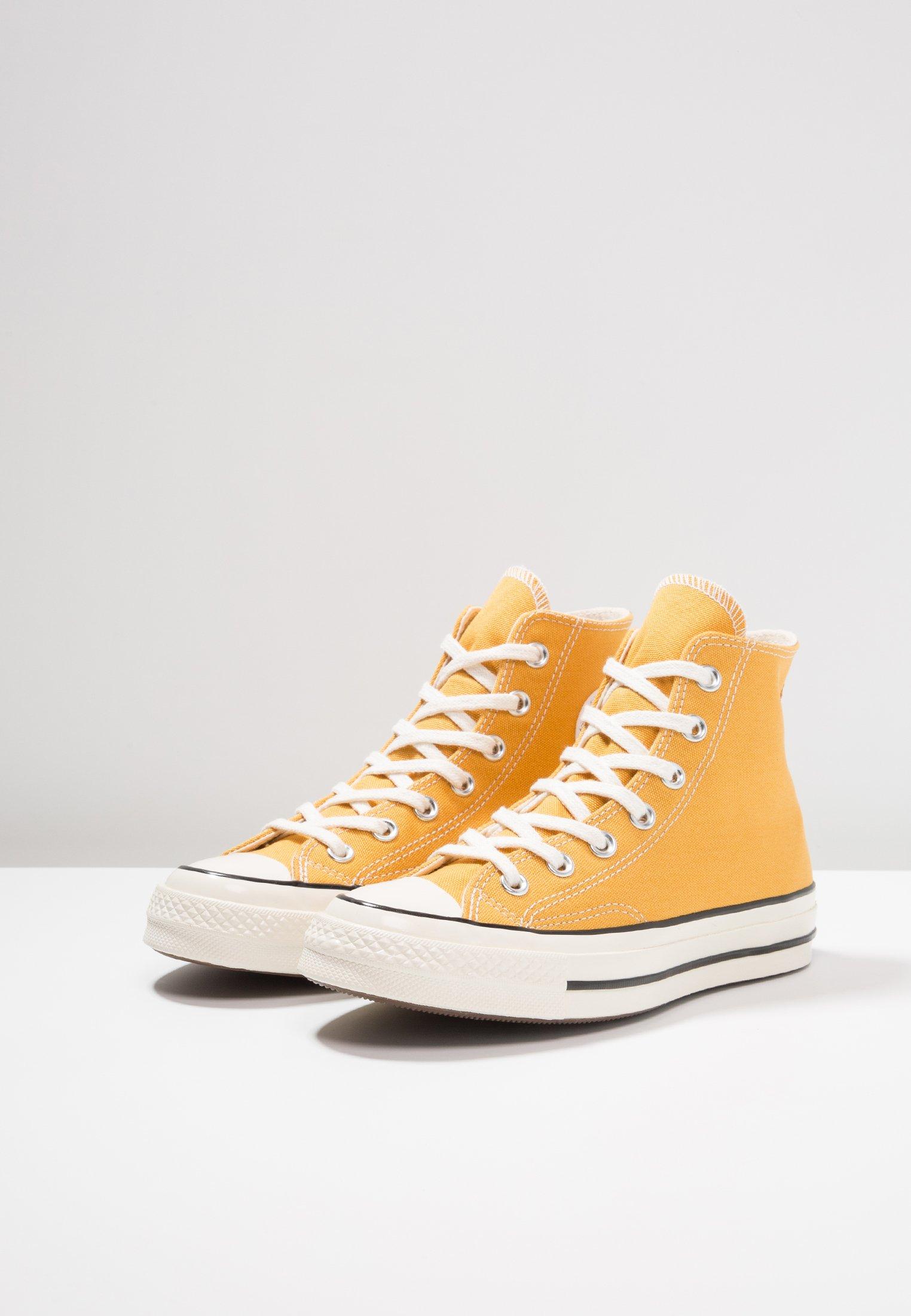 Converse CHUCK TAYLOR ALL STAR '70 HI  - High-top trainers - sunflower/black/egret