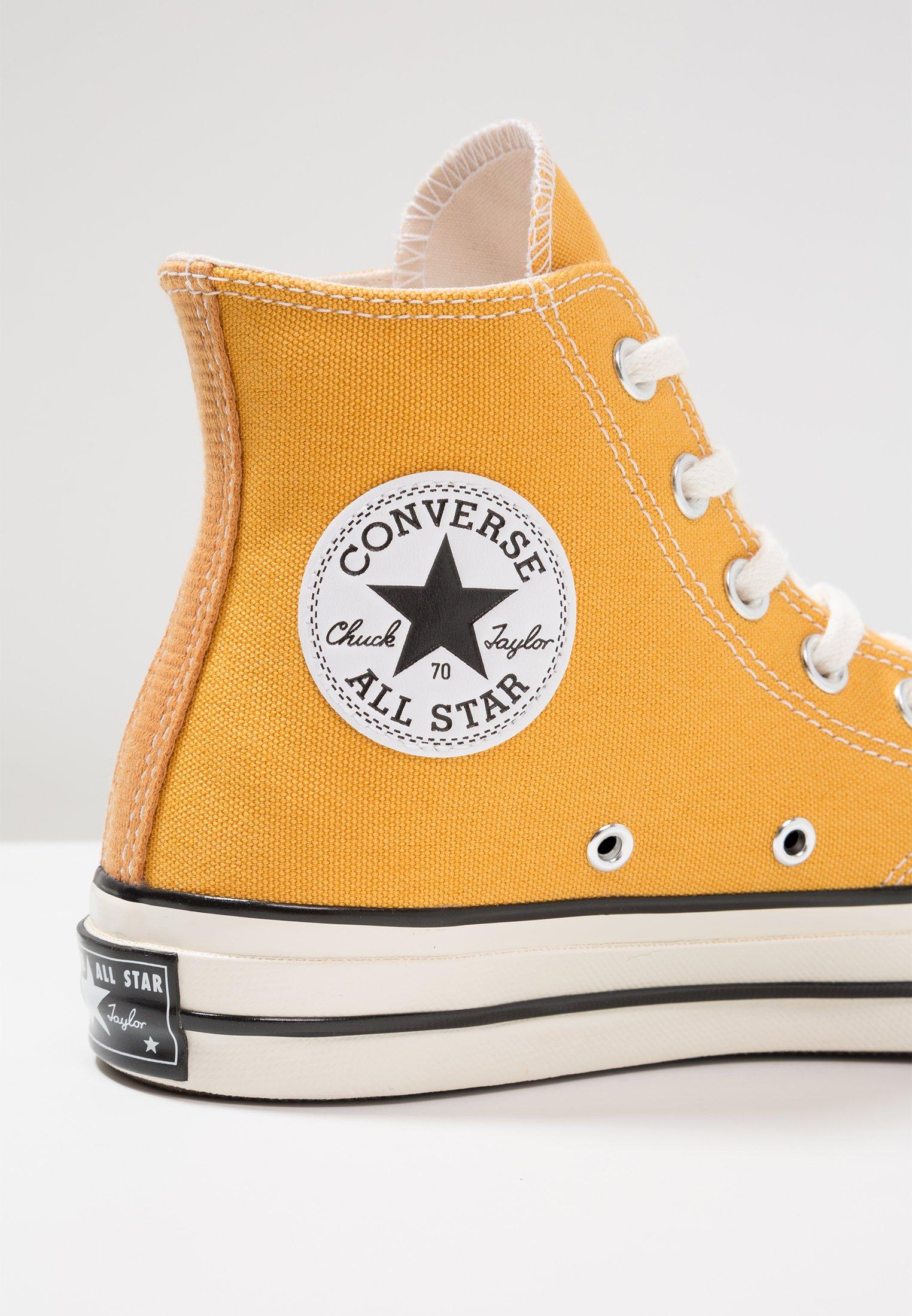 Converse CHUCK TAYLOR ALL STAR '70 HI  - Baskets montantes - sunflower/black/egret