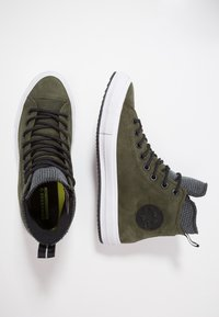 Converse - CHUCK TAYLOR ALL STAR WP - Zapatillas altas - utility green/black/white - 1