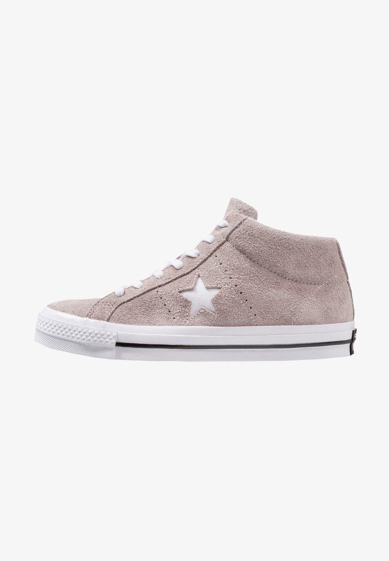 Converse - ONE STAR MID - Sneaker high - mercury grey/white