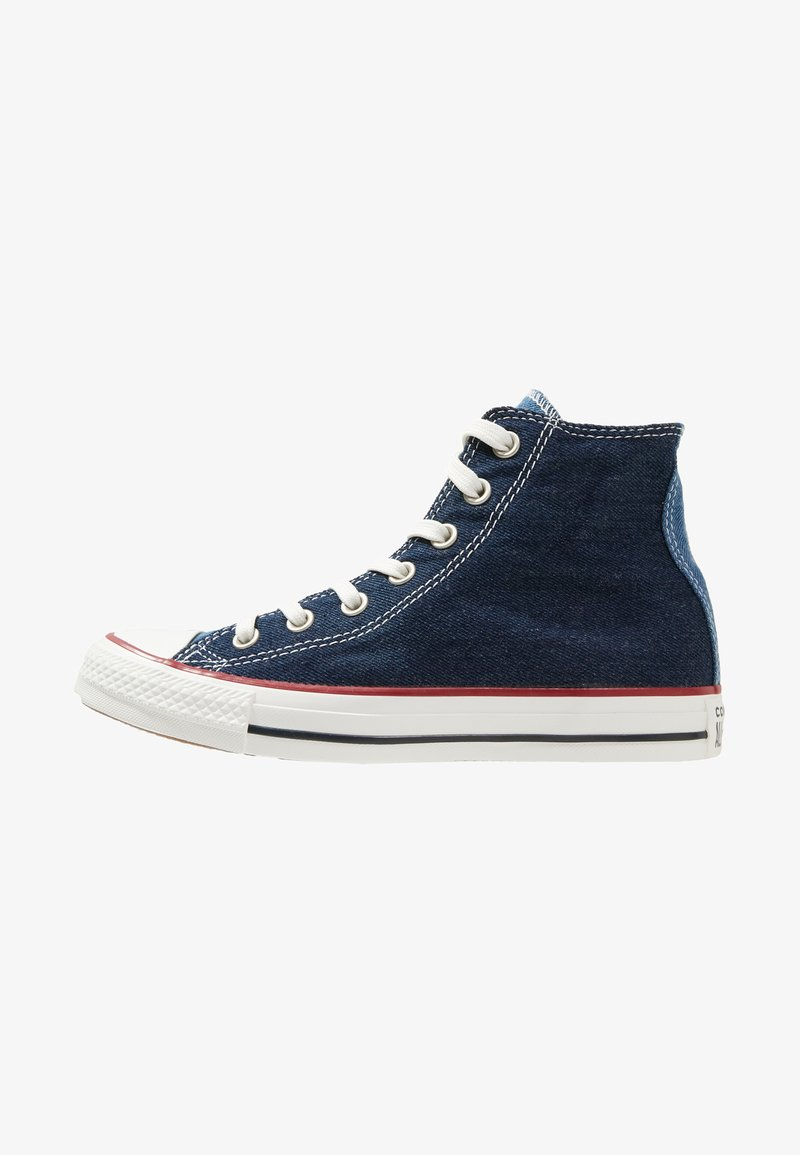 Converse - CHUCK TAYLOR ALL STAR HI - High-top trainers - navy/dark obsidian/vintage white