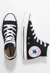 Converse - CHUCK TAYLOR ALL STAR - Sneakers alte - black/white - 1