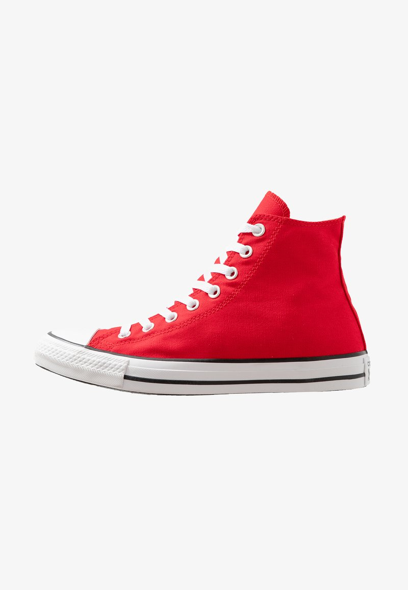 Converse - CHUCK TAYLOR ALL STAR - High-top trainers - enamel red/white/black