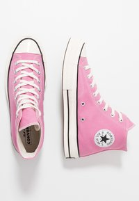 Converse - CHUCK TAYLOR ALL STAR 70 ALWAYS ON - Sneakers high - magic flamingo/egret/black - 1