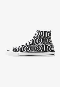 Converse - CHUCK TAYLOR ALL STAR MOONSHOT - High-top trainers - black/white - 0