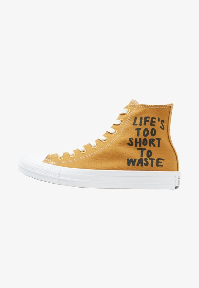 CHUCK TAYLOR ALL STAR HI RENEW - Sneakers hoog - wheat/black/white