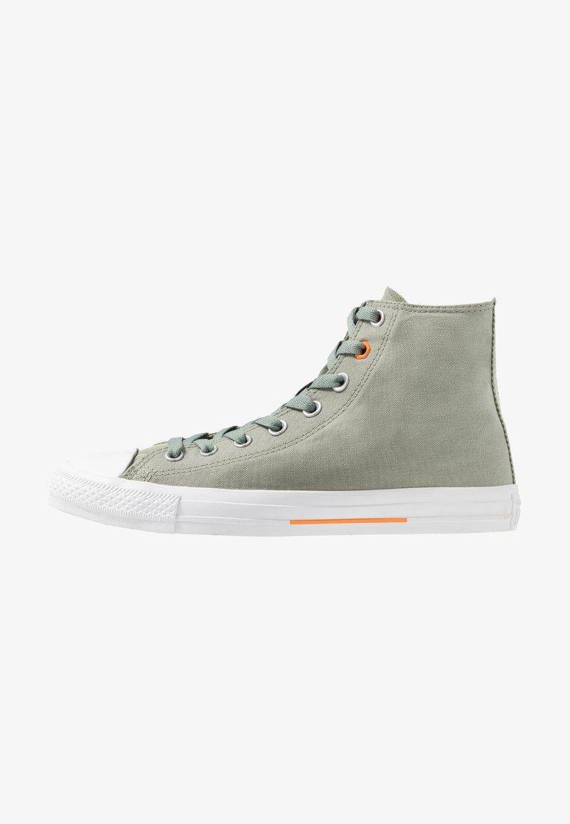 Converse - CHUCK TAYLOR ALL STAR FLIGHT SCHOOL - Sneaker high - jade stone/orange rind/white