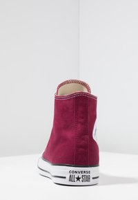 Converse - CHUCK TAYLOR ALL STAR HI - Korkeavartiset tennarit - maroon - 3