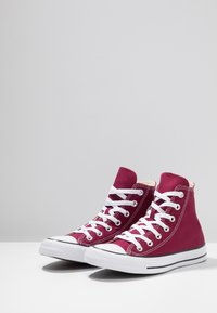 Converse - CHUCK TAYLOR ALL STAR HI - Korkeavartiset tennarit - maroon - 2